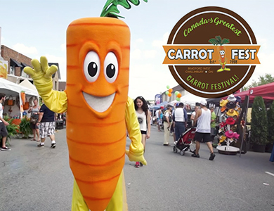 The Towns of East and West Gwillimbury Carrot Fest