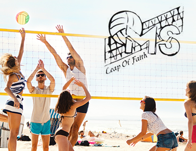 The MS Society Leap of Faith Beach Volleyball Tournament